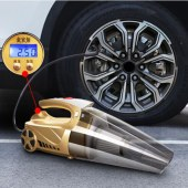 车载吸尘器充气汽车打气泵四合一车用数控款