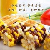 润禾有机彩玉米棒10穗/箱